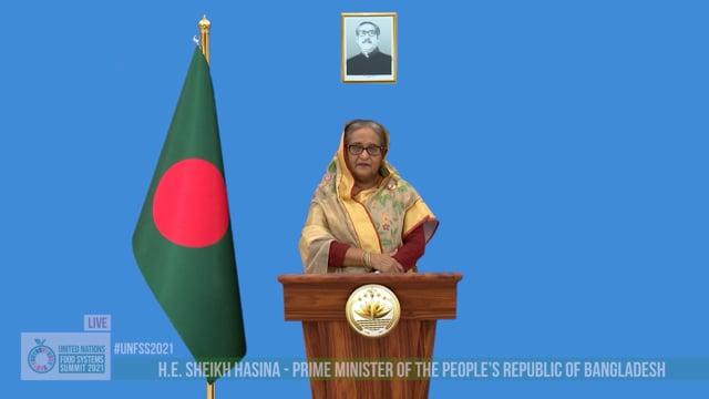 H.E. Sheikh Hasina, Prime Minister, Bangladesh