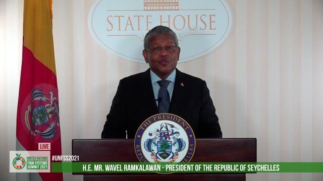 H.E. Wavel Ramkalawan, President of the Republic of Seychelles