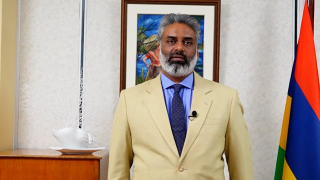 Hon. Maneesh Gobin, Attorney General, Minister of Agro-Industry and Food Security, Member State, Mauritius