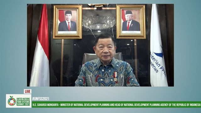 H.E. Suharso Monoarf, Minister of National Development Planning, Indonesia
