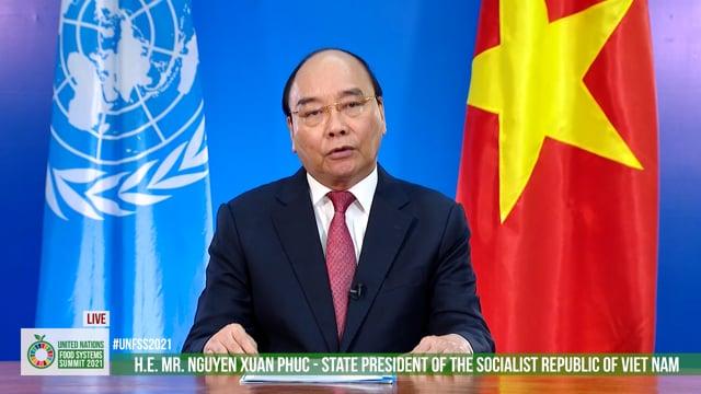 H.E. Nguyen Xuan Phuc, President, Viet Nam