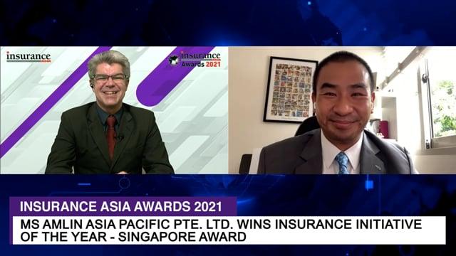 Insurance Asia Awards 2021 Winner: MS Amlin Asia Pacific Pte. Ltd