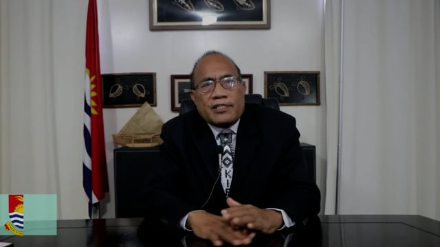 H.E. Taneti Maamau, President, The Republic of Kiribati