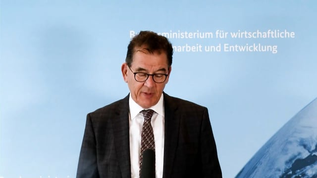 H.E. Dr. Gerd Müller, Federal Minister for Economic Cooperation and Development, Germany
