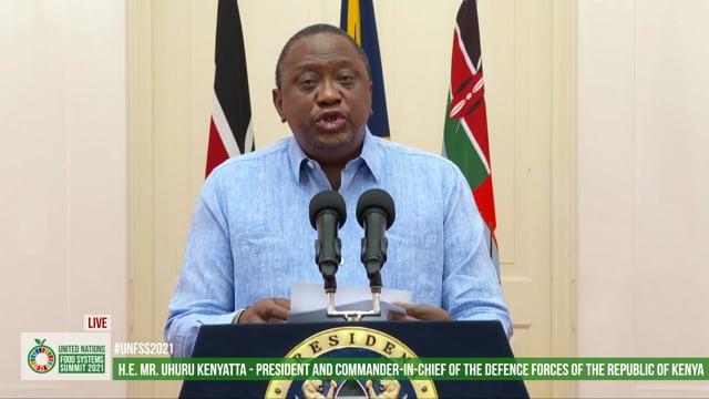 H.E. Uhuru Kenyatta, C.G.H., President Of The Republic Of Kenya