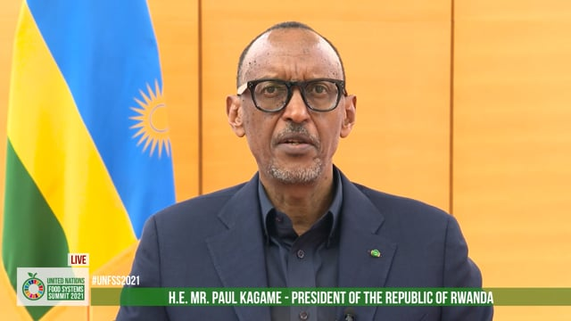 H.E. Paul Kagame, President, The Republic of Rwanda