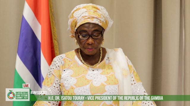 H.E. Dr. Isatou Touray, Vice-President of the Republic of the Gambia