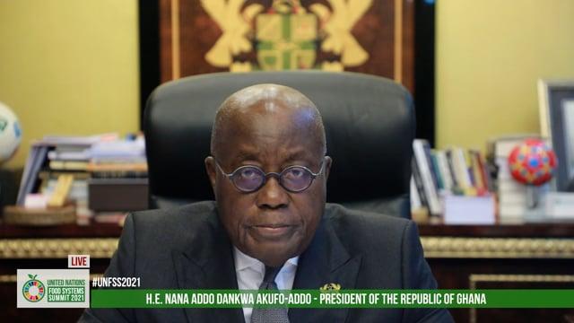 H.E. Nana Addo Dankwa Akufo-Addo, President of Ghana