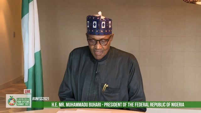 H.E. Muhammadu Buhari GCFR, President, Nigeria