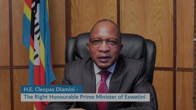 H.E. Cleopas Sipho Dlamini, Prime Minister, The Kingdom of Eswatini