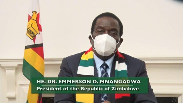 H.E. Emmerson D. Mnangagwa, President, The Republic of Zimbabwe