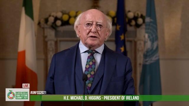 H.E. Michael D. Higgins, President of Ireland