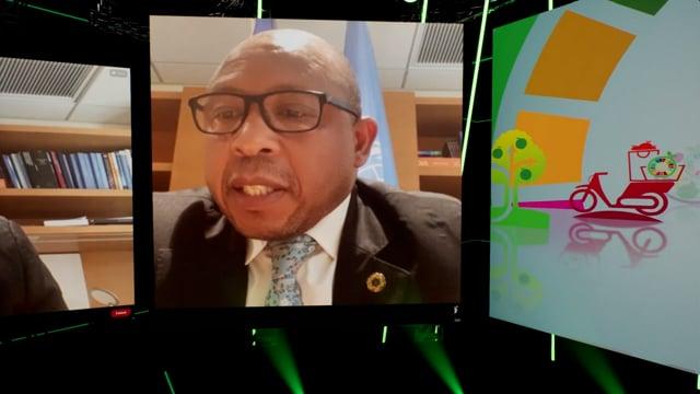 H.E. Dr. Moeketsi Majoro, Prime Minister, Lesotho