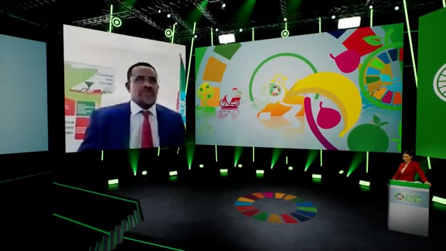 H.E. Oumer Hussein Oba, Minister of Agriculture of the Federal Democratic Republic of Ethiopia