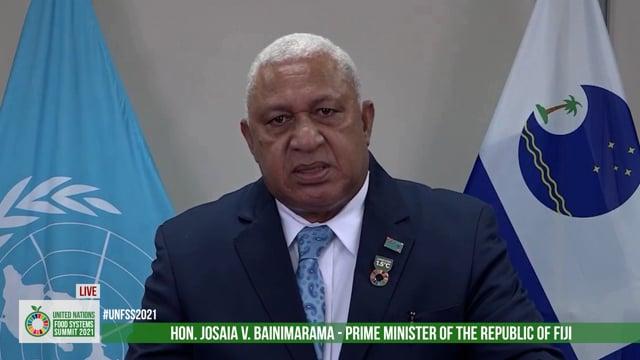 Hon. Josaia V. Bainimarama, Prime Minister of the Fiji