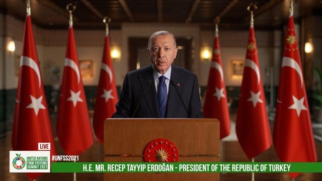 H.E. Recep Tayyip Erdogan, President of Republic of Turkey