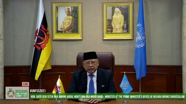 Hon. Dato Seri Setia Haji Awang Abdul Mokti Haji Mohd Daud, Minister at the Prime Minister's Office, Brunei Darussalam