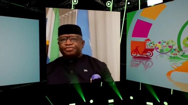 H.E. Julius Maada Bio, President of the Republic of Sierra Leone