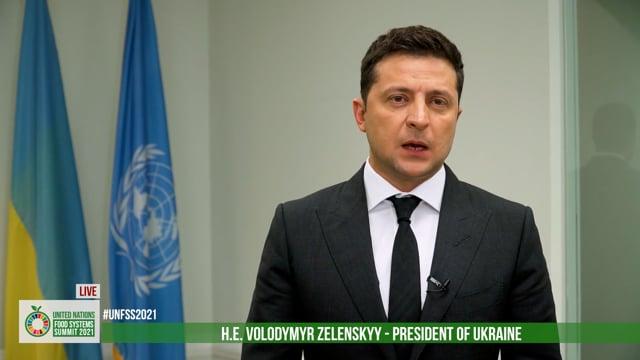 H.E. Volodymyr Zelenskyy, President of Ukraine