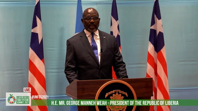 H.E. Dr. George Manneh Weah, President Of The Republic Of Liberia