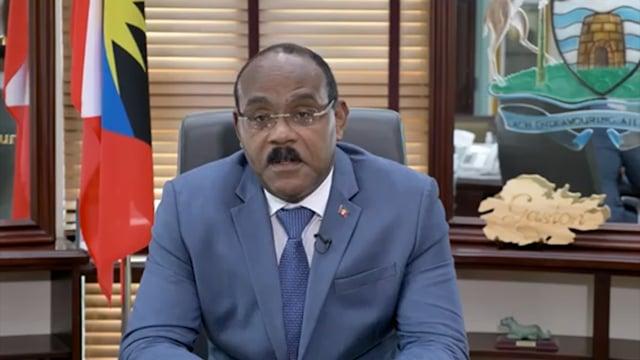 H.E. Gaston Browne, Prime Minister, Antigua and Barbuda