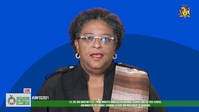 H.E. Mia Amor Mottley, Prime Minister of Barbados