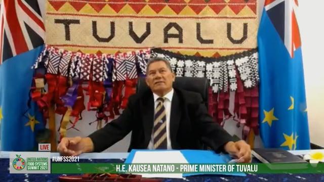 Hon. Kausea Natano, Prime Minister, Tuvalu