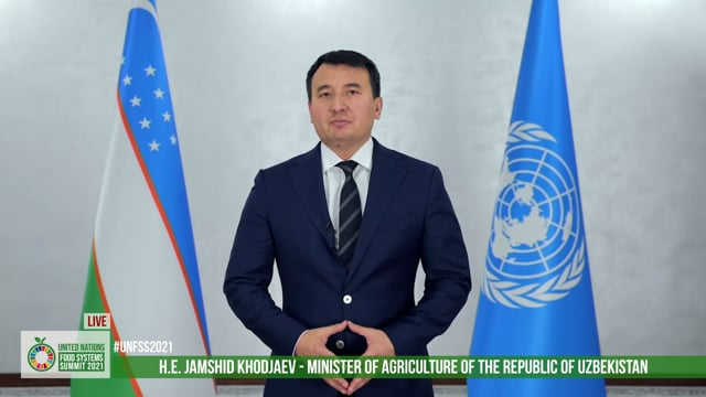 H.E. Jamshid Khodjaev, Minister of Agriculture of the Republic of Uzbekistan