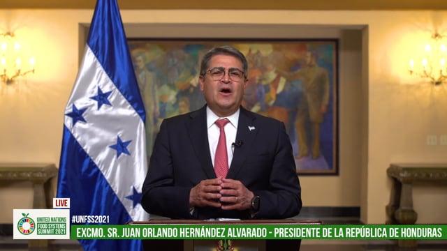 H.E. Mr. Juan Orlando Hernández Alvarado, President, Honduras