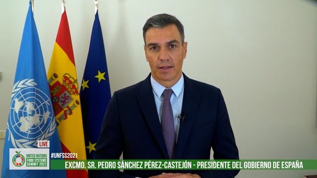 Excmo. Sr. Pedro Sánchez, President of Government, The Kingdom of Spain