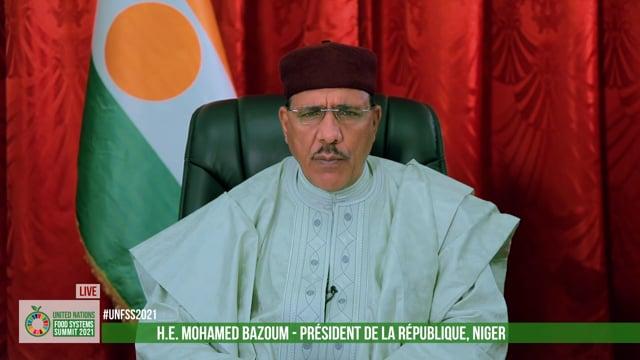 H.E. Mohamed Bazoum, President, The Republic of Niger