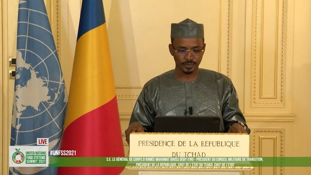 H.E. General Mahamat Idriss Déby Itno, President of the Transitional Military Council, President of the Republic of Chad