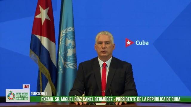 Excmo. Sr. Miguel Díaz-Canel Bermúdez, President of the Republic of Cuba