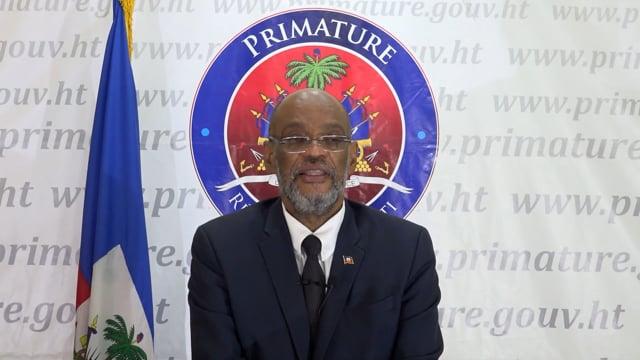 S.E. M. Ariel Henry, Premier Ministre et Ministre des Affaires Sociales et du Rravail de la République d'Haïti